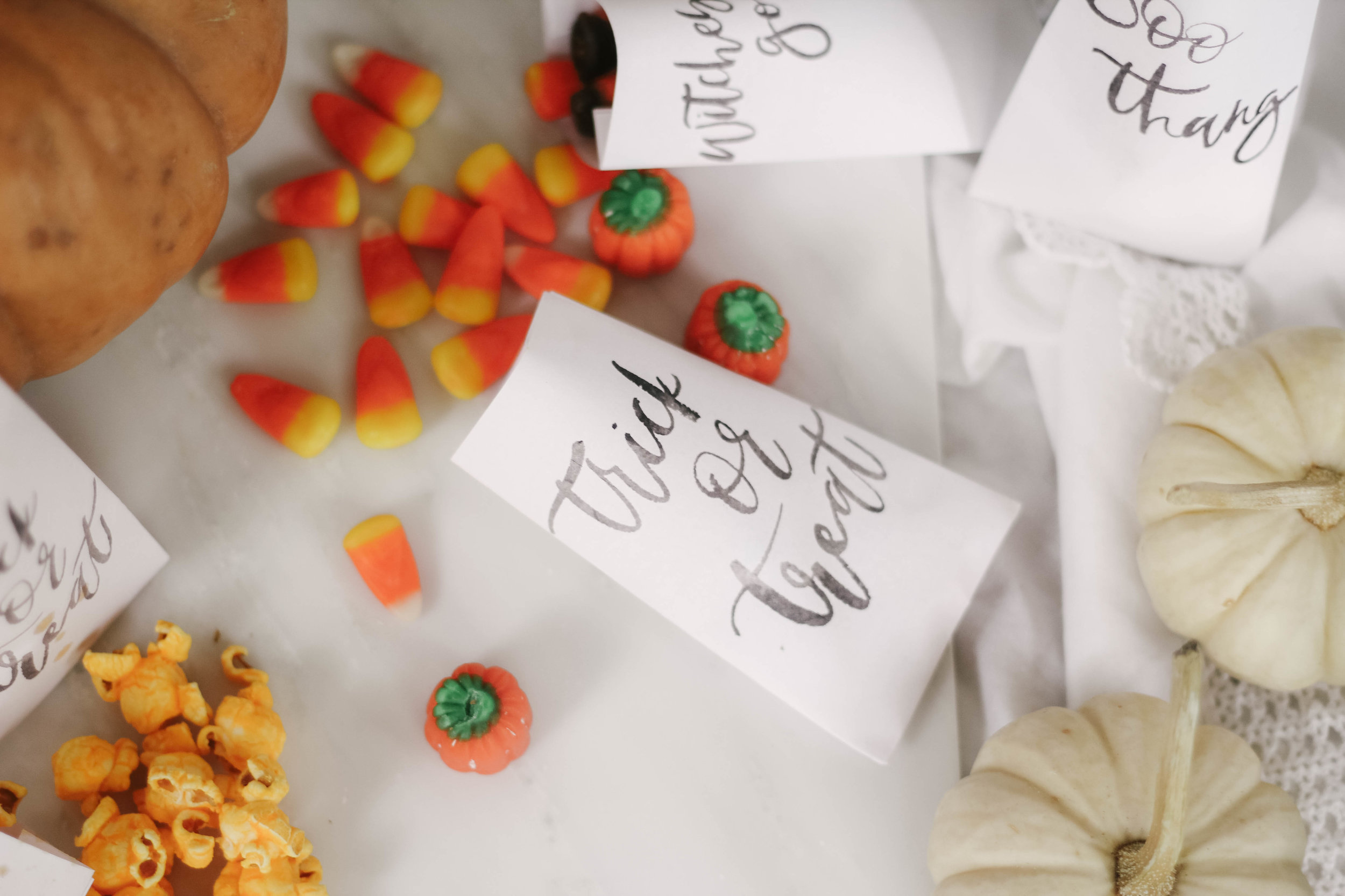 Printable Halloween Goody Bags - Click to grab your goody bags that are perfect for party favors or for a candy bar setup.