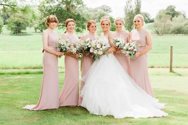 Rockbeare Manor luxury wedding gardens in Devon
