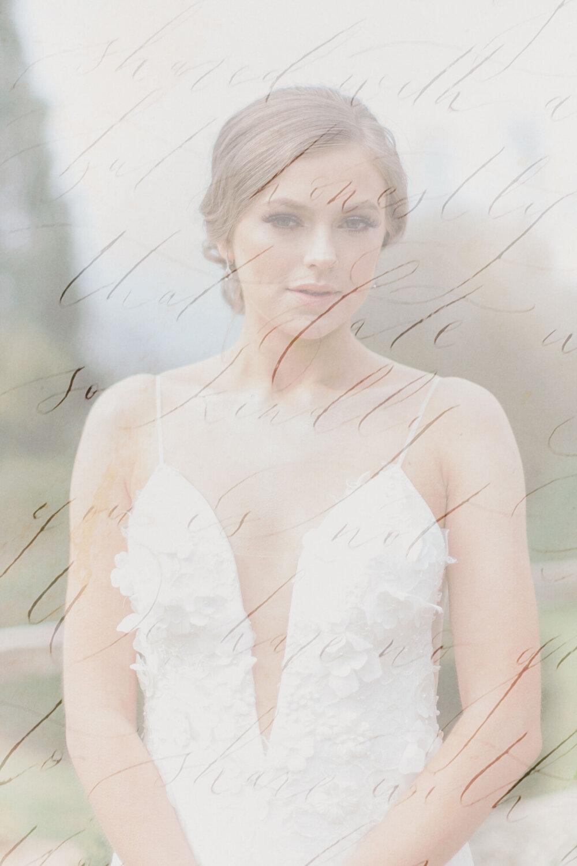 Riki Dalal Couture Wedding Dress at Tredilion Park Luxury Wedding Venue