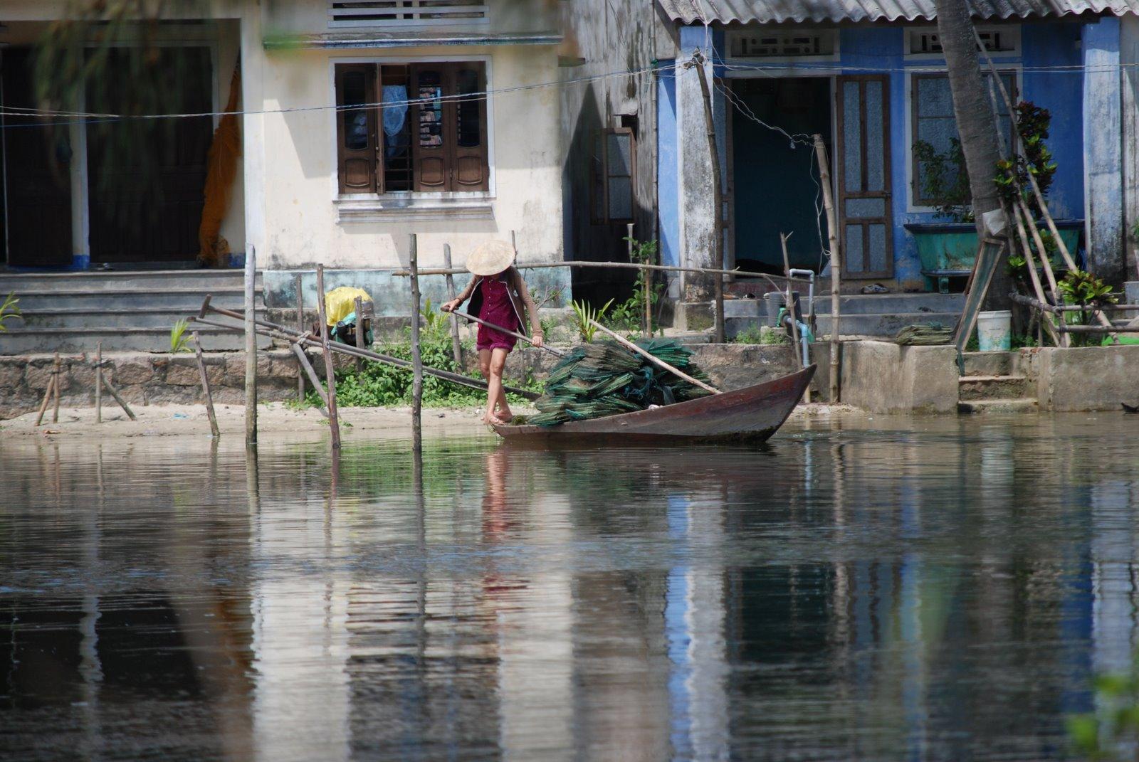 in the village - Hoi An, Vietnam