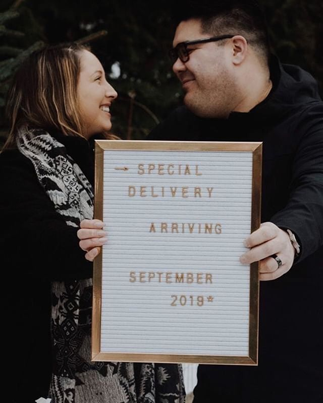 Loved being a part of this announcement! Congrats @lindsay.louu + @derrykhomma ! You guys are going to make amazing parents to TWINS! ✨
