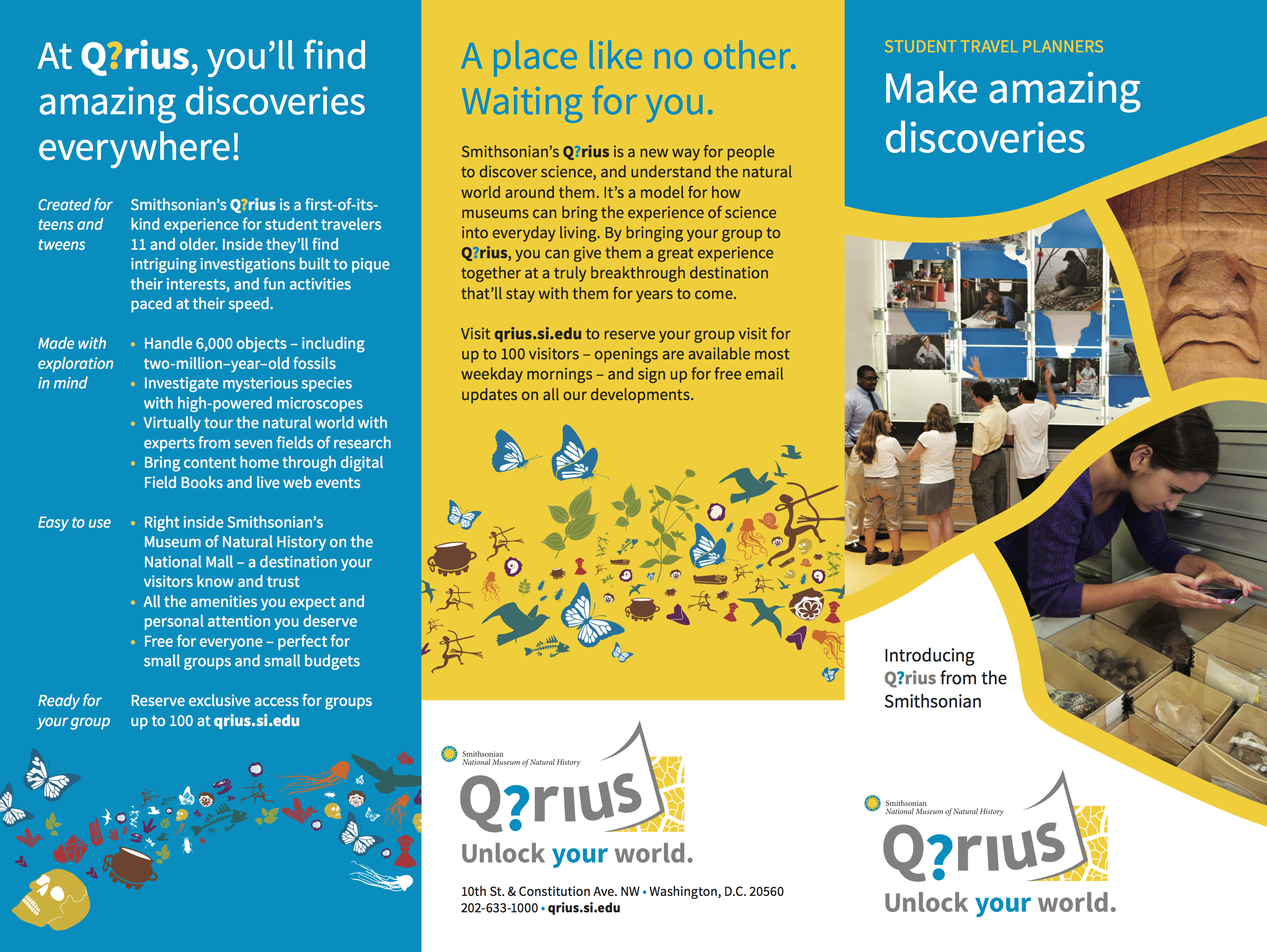 Tour operators brochure