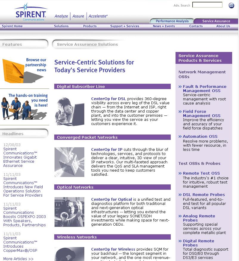 3rd generation public website