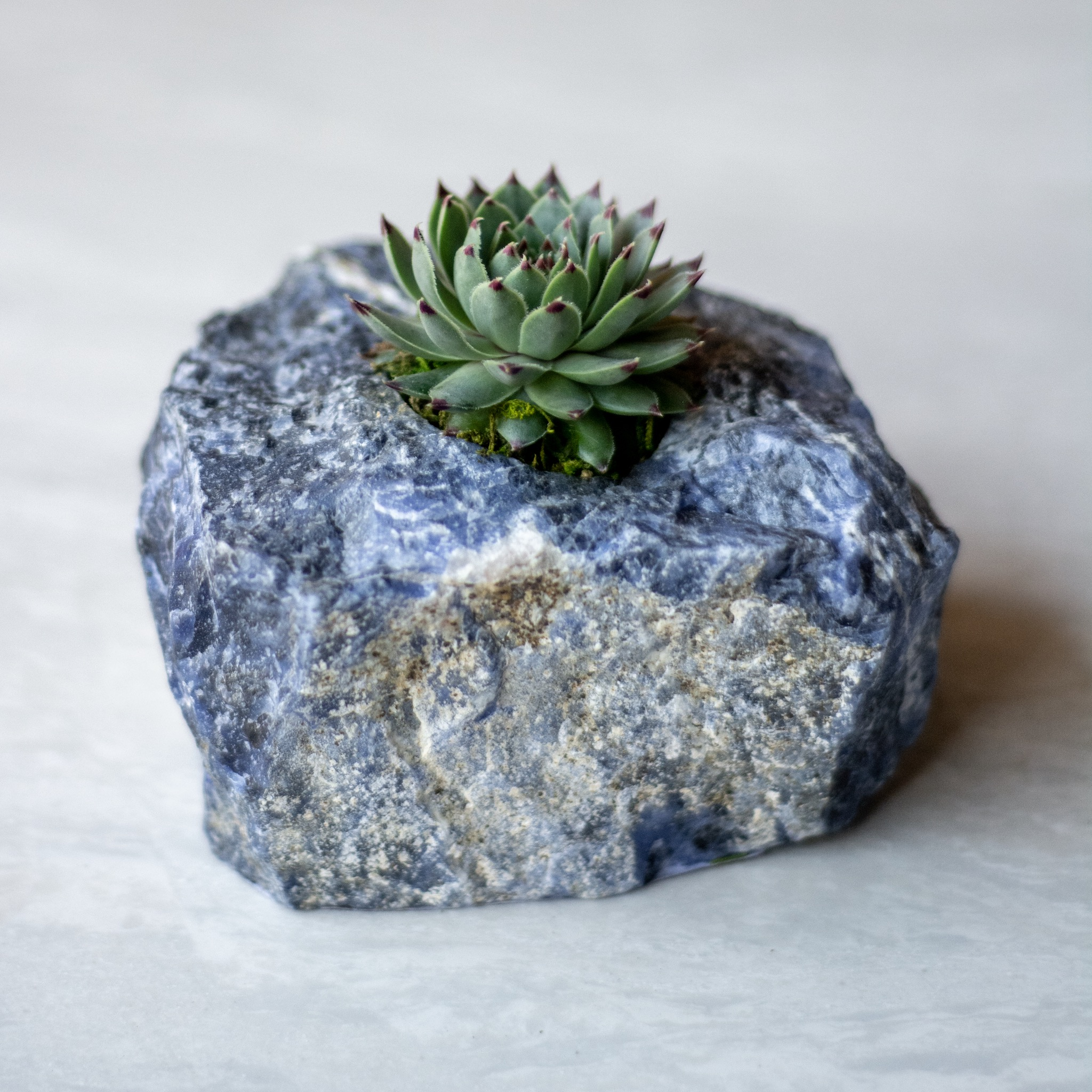 Sodalite is the stone of communicating your truth and clarity. Perfect to battle the next Mercury retrograde.  THROAT CHAKRA