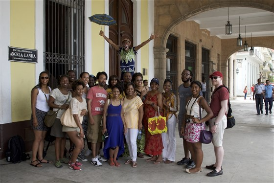 """""""Africa in the Americas: Tour Group Explores Cuba's African Roots"""" - Diaspora Interview - By Melissa Noel and Mikhael SimmondsArticleNBC NewsDecember 4, 2016"""