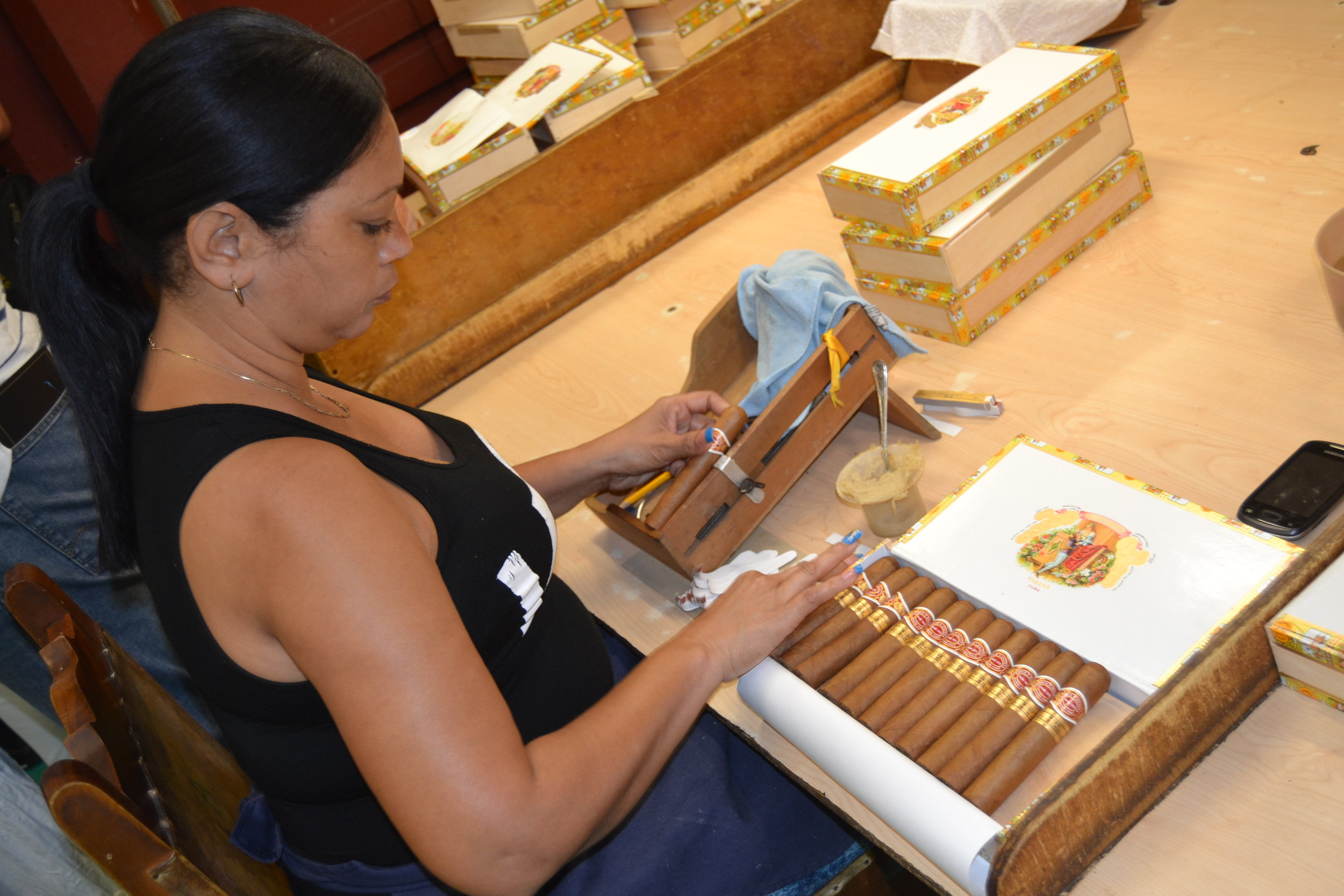 "Uniquely Cuban Rum & Cigar Tour - Indulge in rum and cigar on our tour of a working cigar factory in the 18th century colonial townhouse, the Museo del Ron Havana Club (""Havana Club Rum Museum""), and touring various cultural and commercial centers related to Rum & Cigars."