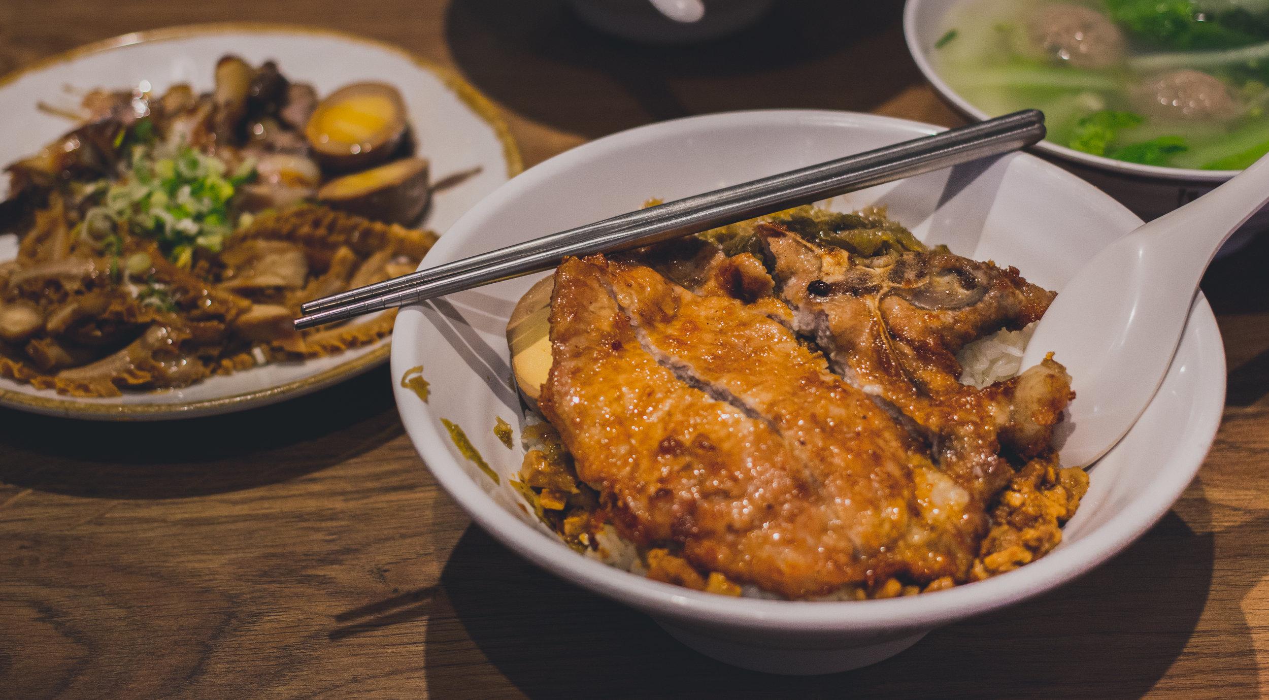 台灣排骨飯