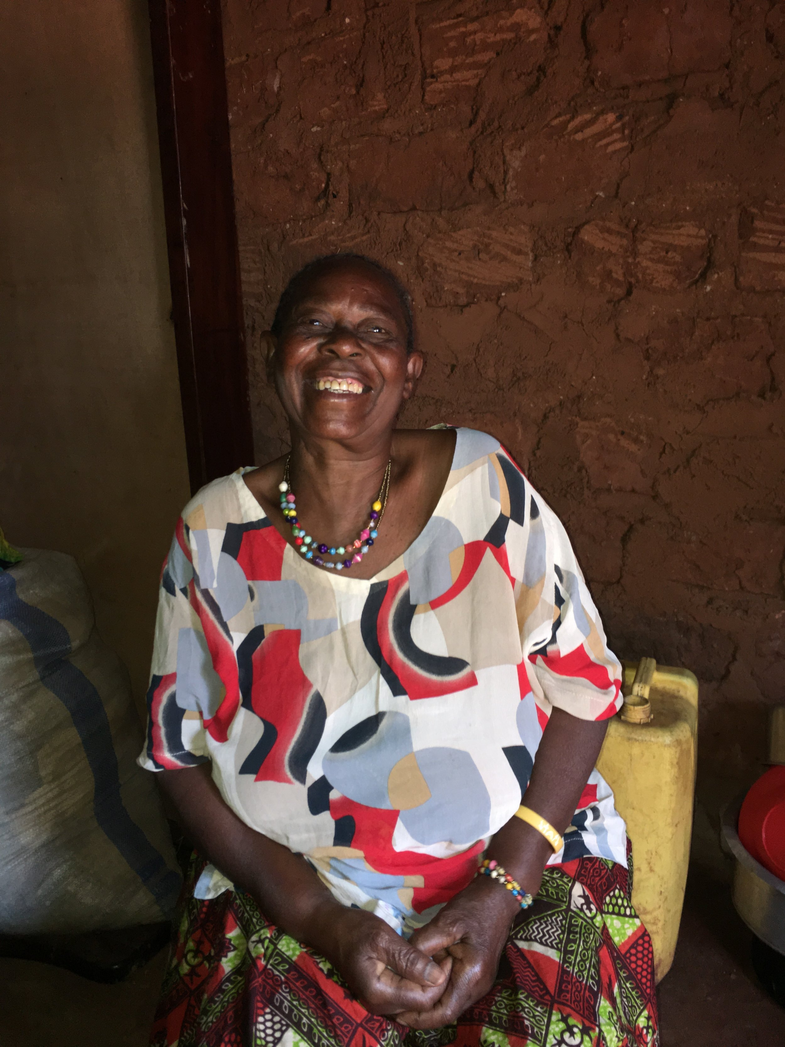 #7 Ruth's House - At the start of 2018, Ruth's house had one wall that had fallen down. She was able to save and rebuild her house herself! We did not pay her any extra to make this possible. She was empowered and so proud to show us her rebuilt house this past summer!