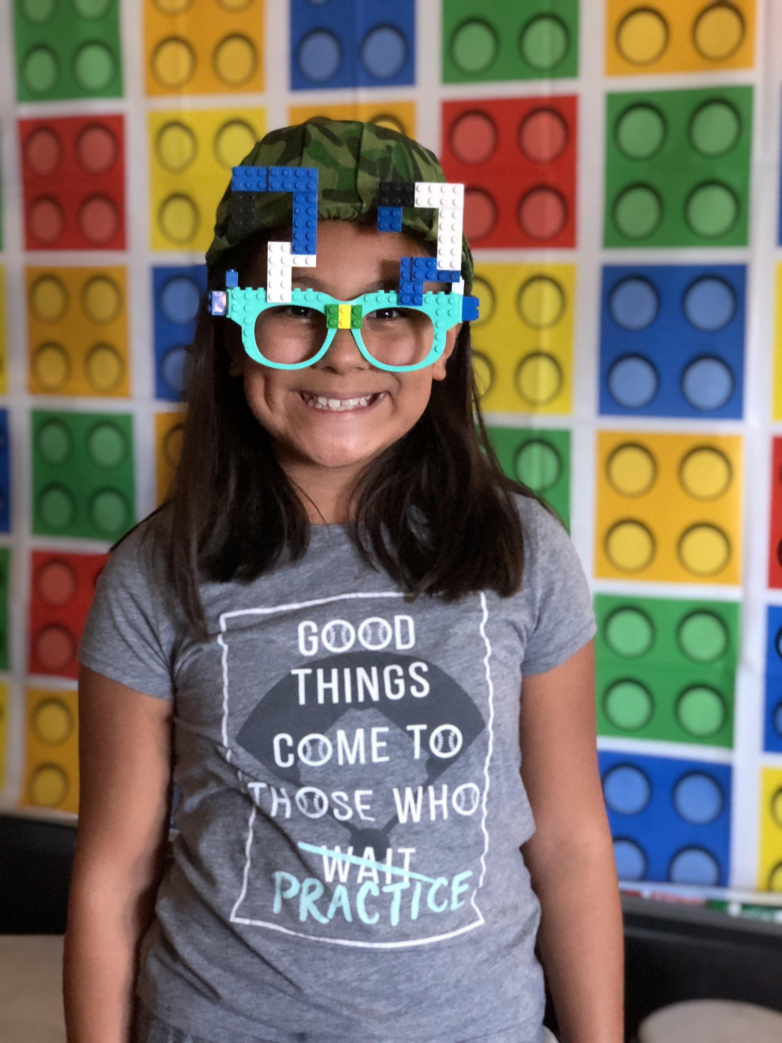 Lego Glasses Link  Here