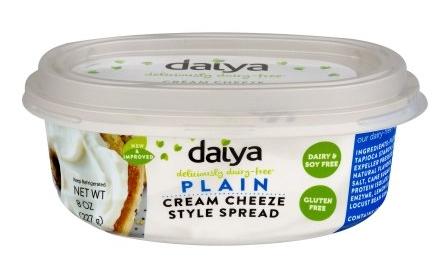 Daiya - Cream Cheese in Plain and Chive & Onion