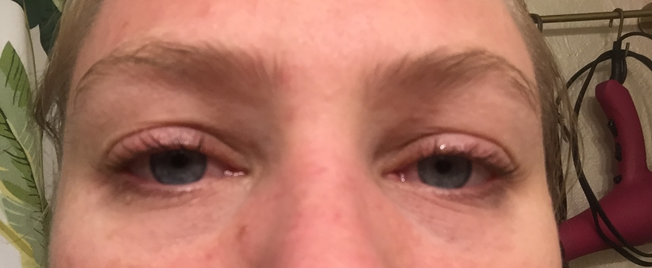 Right before using lash boost.