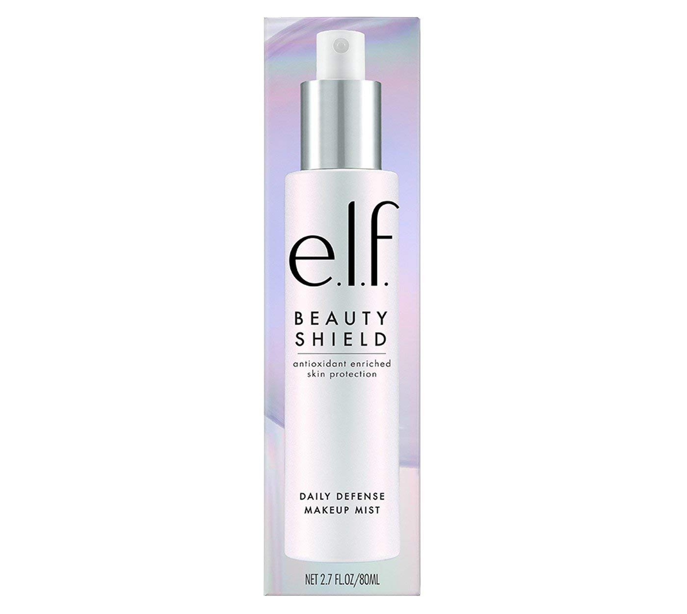 Stay radiant. - There's weird stuff floating out there in the air. Protect your face. Elf Daily Defense Mist.