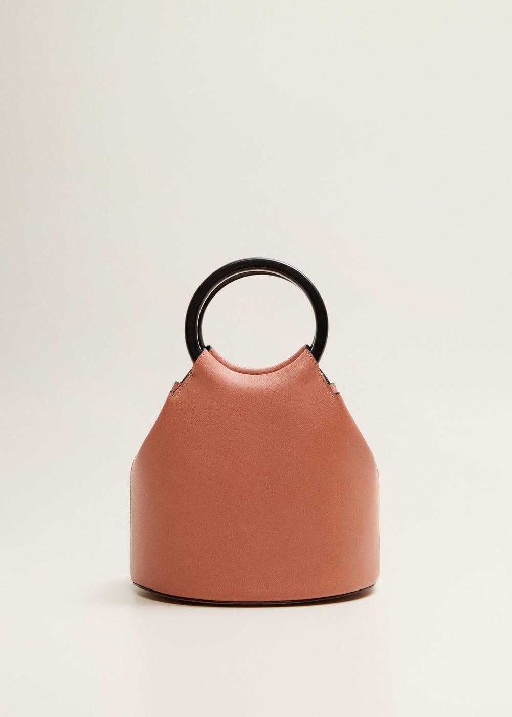 Wooden Handle Bag | Mango