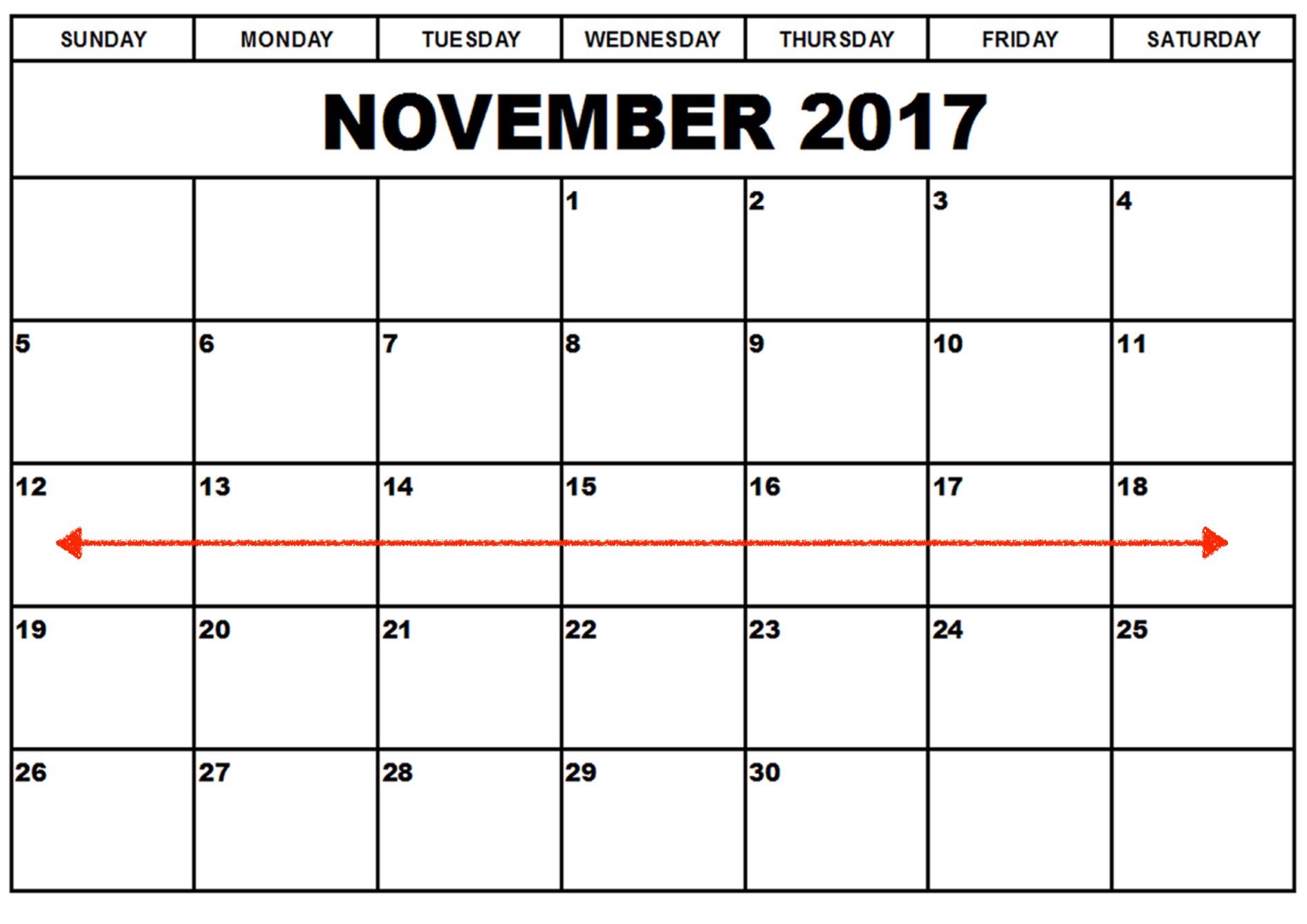 Week One - November 12-18
