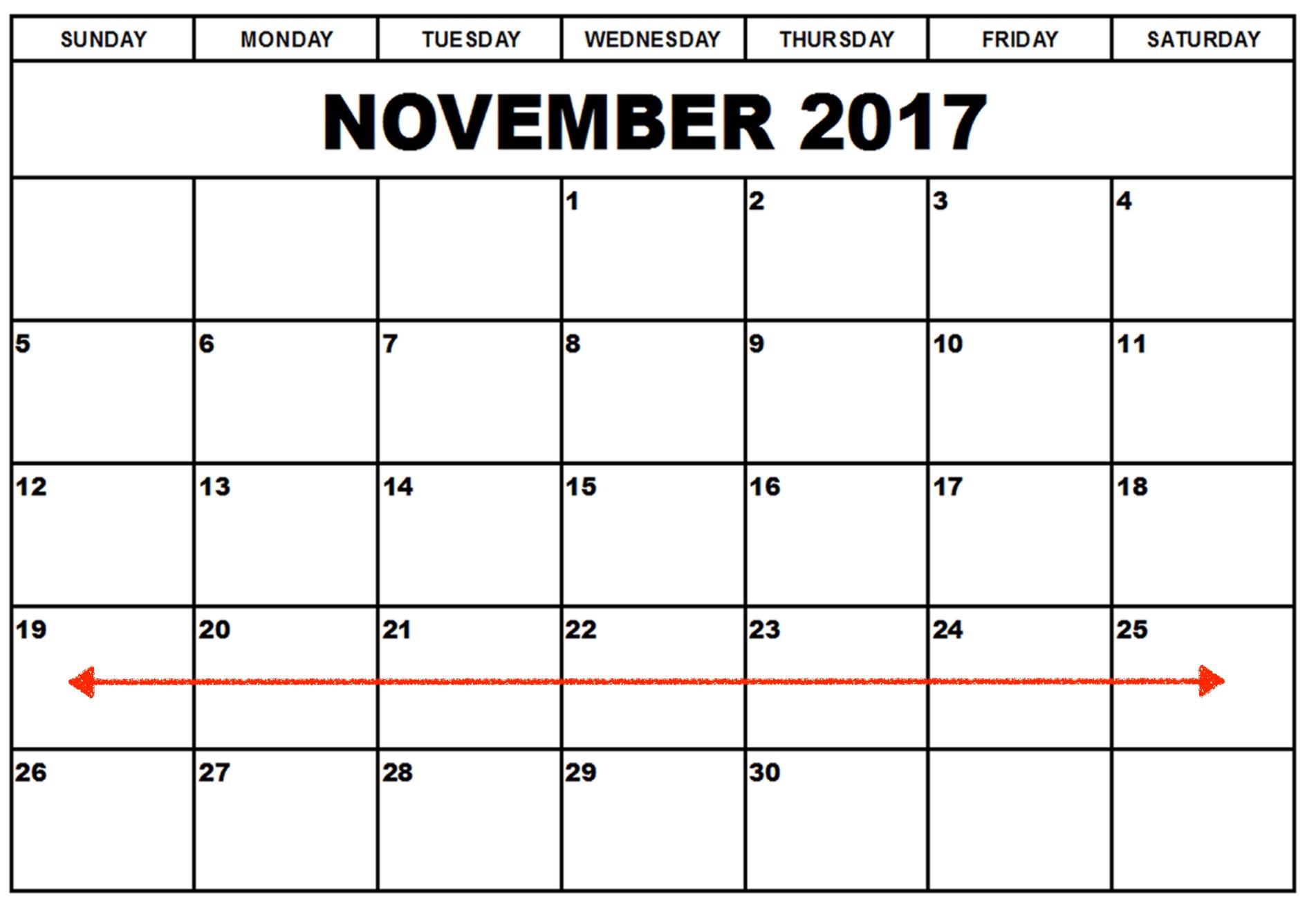 Week Two - November 19-25