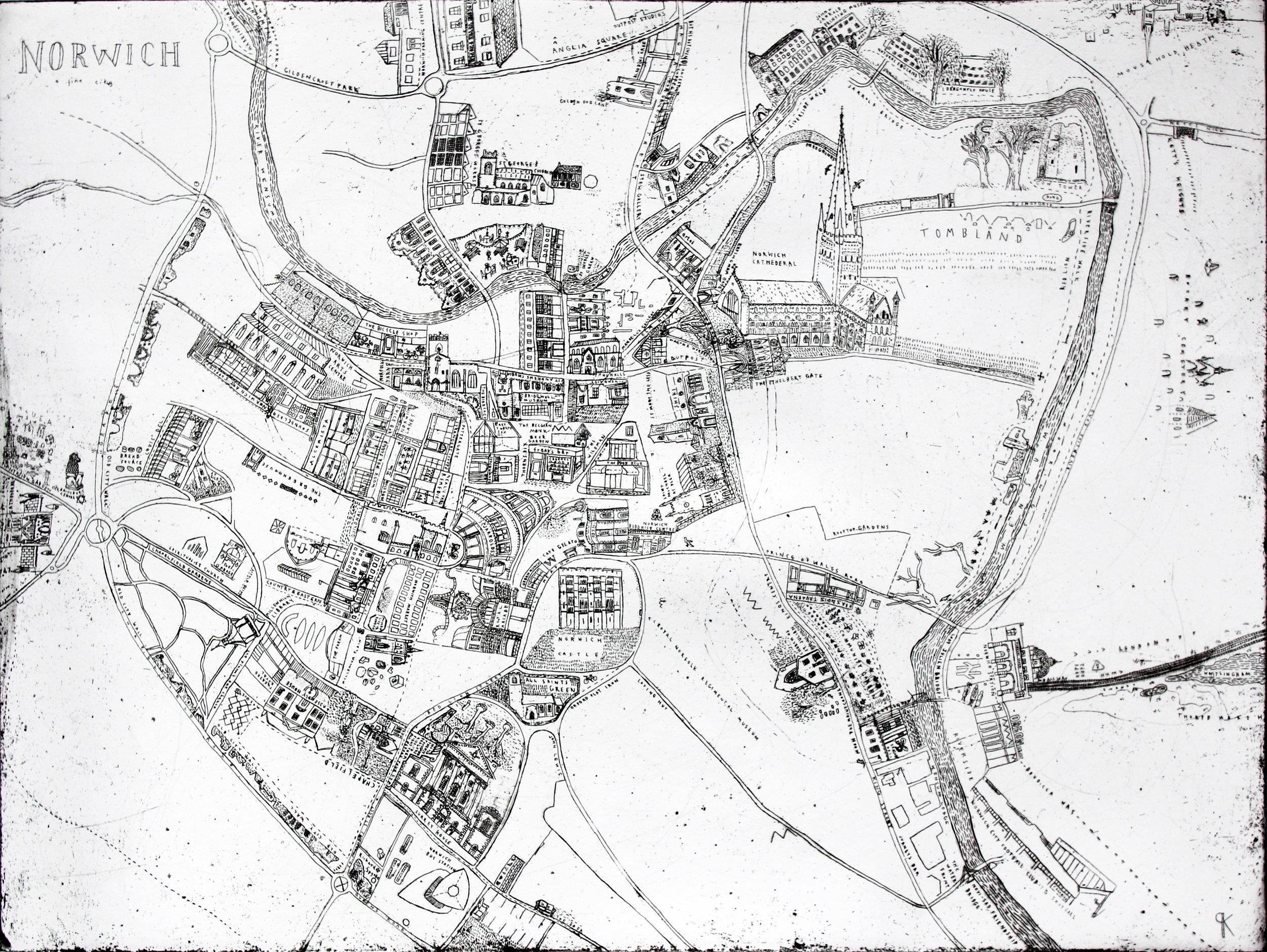 1. Keziah Philipps, Norwich Map, copper etching, 60cm x 40cm.jpg