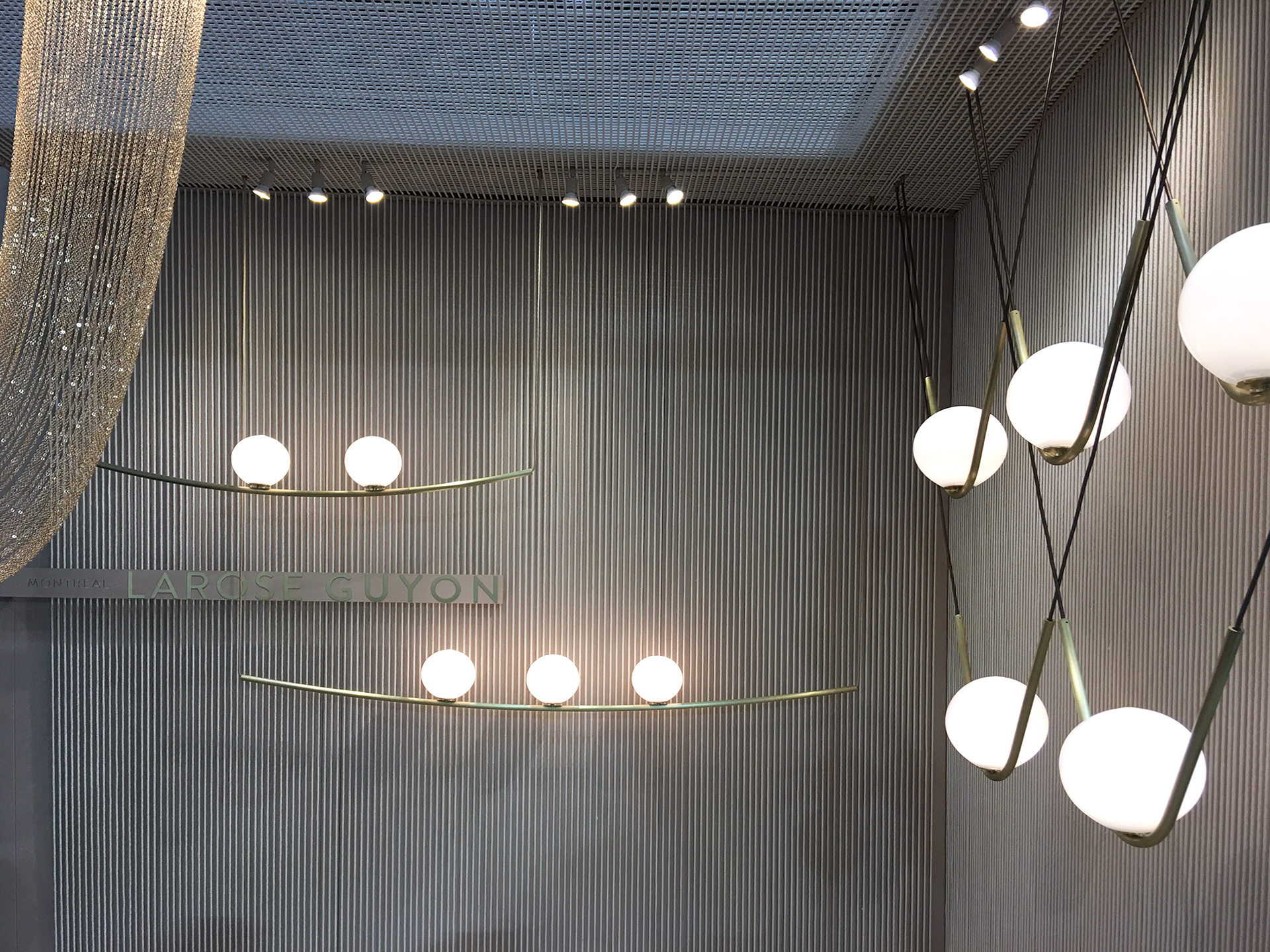 Original high-end lighting by Larose Guyon from Canada.