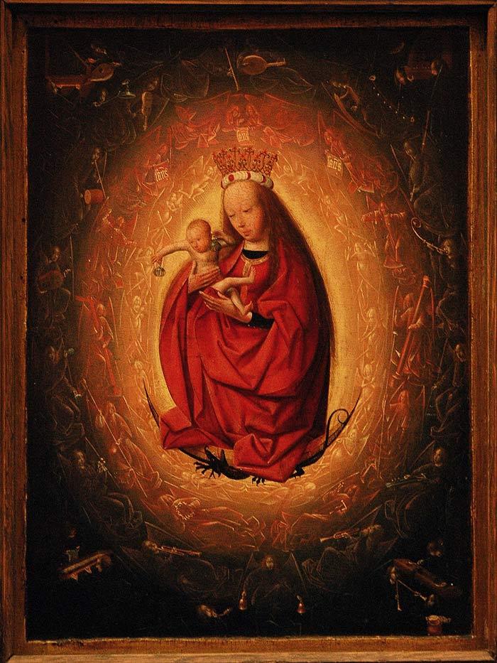 """The Glorification of the Virgin"" - Geertgen tot Sint Jans - 1490-1495"