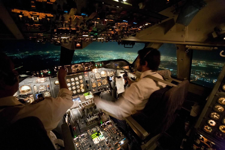 Cockpit.