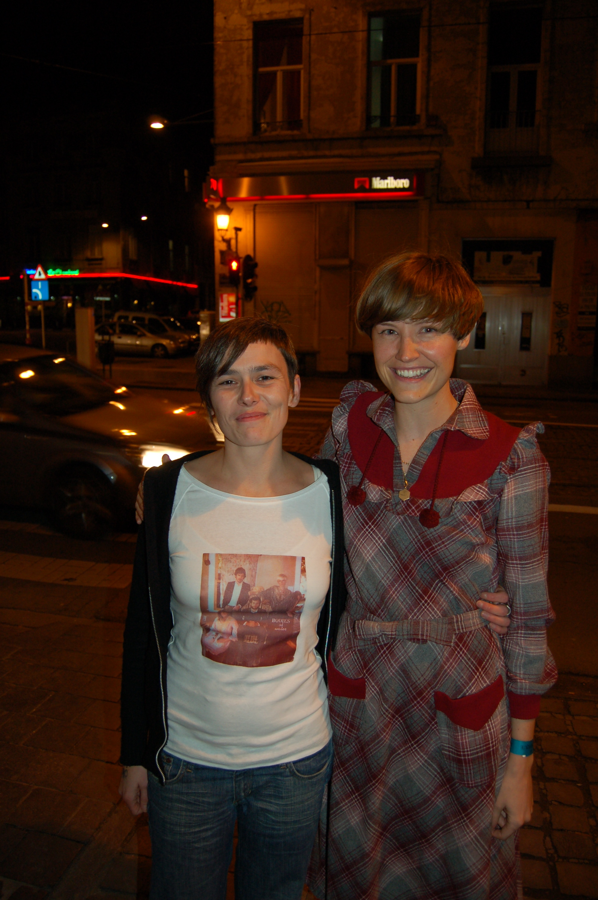 Brussels, with Fanny Chiarello.