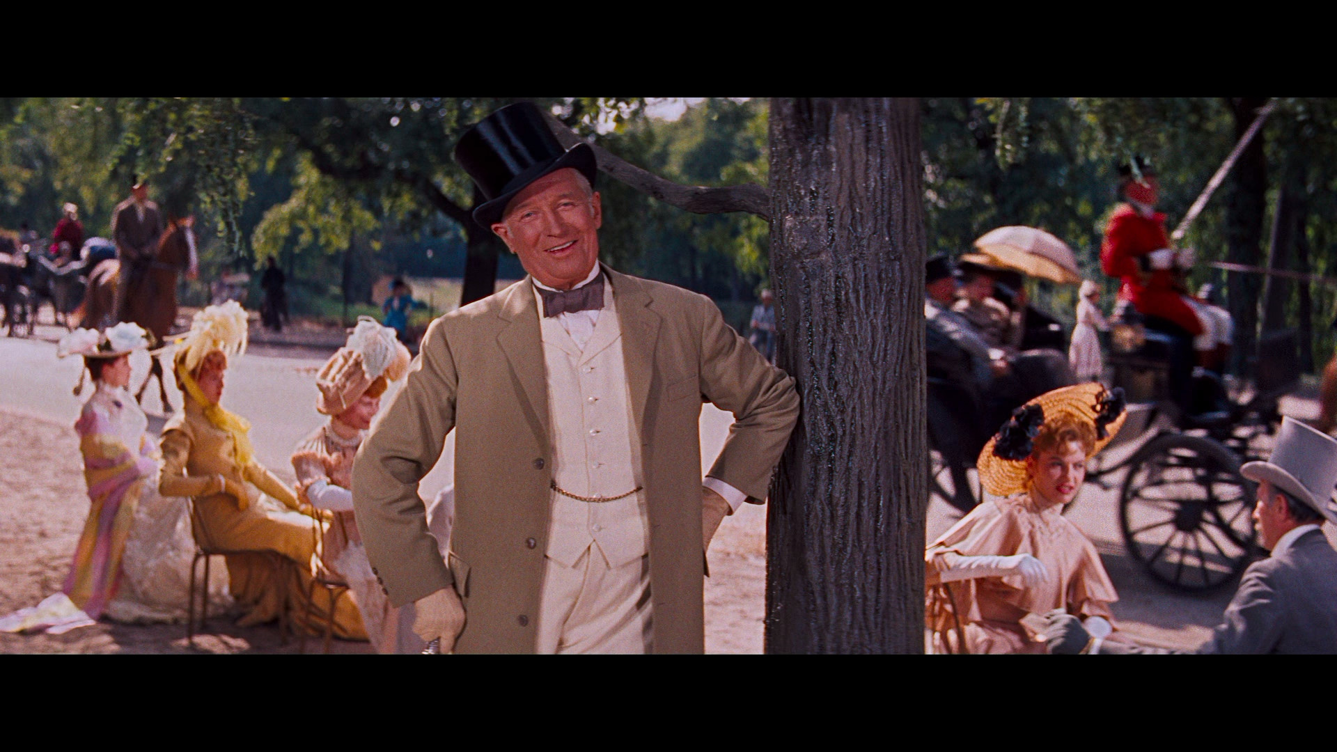 Gigi - 1958  I love Maurice Chevalier! You could make a VERY compelling argument that he's everything I will never be.