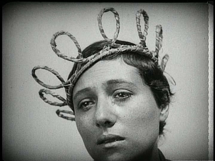 "The Passion of Joan of Arc - 1928  One night when I was a teen, I turned on the TV to ""see what was on."" This was playing on  KCET , and I became absorbed in it right away! It's a really beautiful movie, still one of my favorites. The same thing happened a few years later, this time with ""Vivre Sa Vie."" After I stumbled onto that one, I became real excited about J.L. Godard. Accidentally finding these things is one of life's great joys, but this seems to happen less now than it used to for me. I'm not sure why; maybe my being older and knowing more precludes this kind of serendipity. If you have any tips about how you set yourself up to come across things that may ""meet you where you live,"" email them to me. I'd love to know how you all may go about this!"