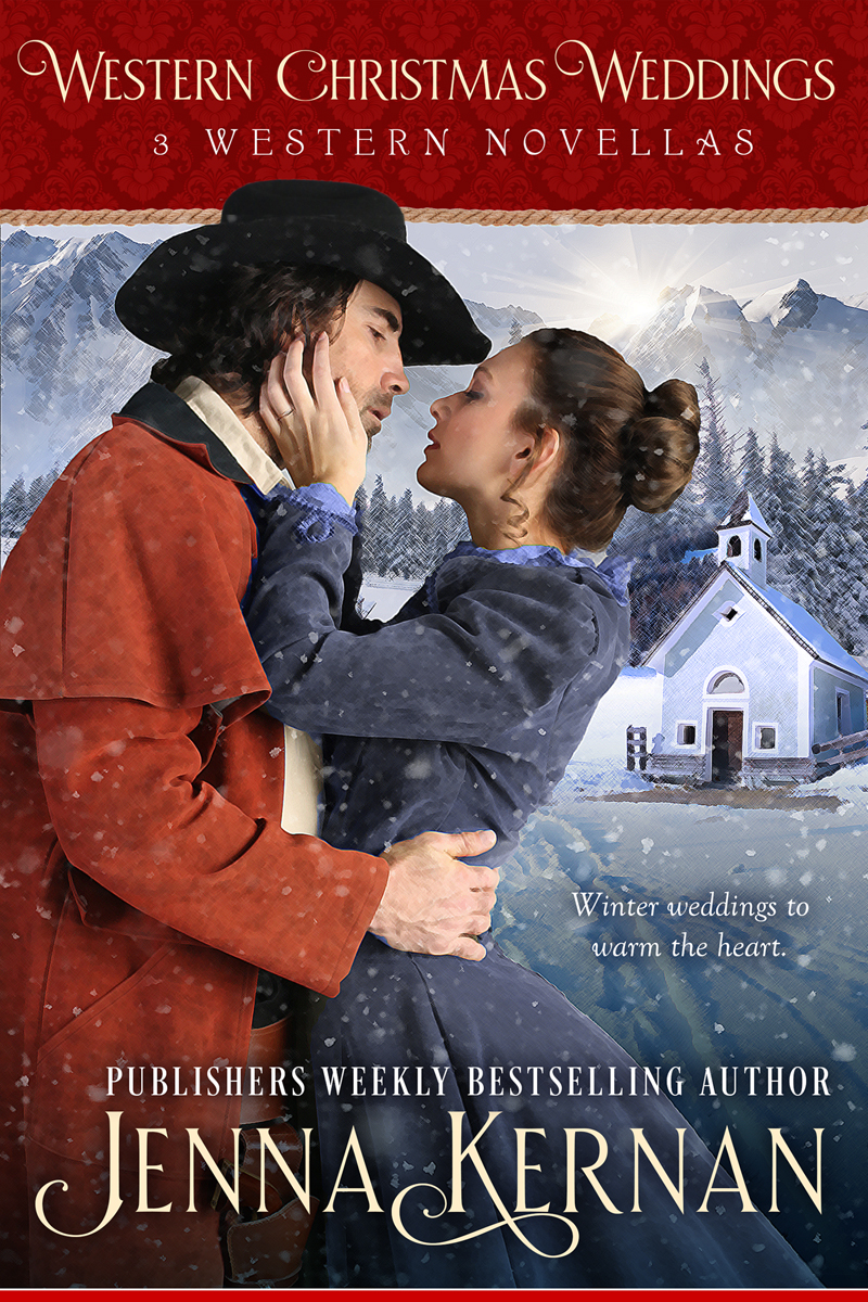 Finally! All Jenna Kernan's Christmas Novellas now in one place!