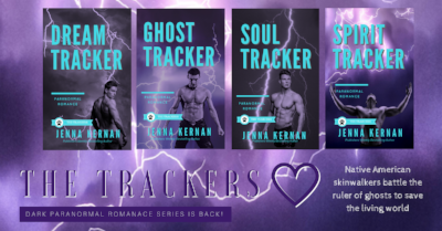 The Trackers - Dark paranormal romance series steeped in Native American mythos