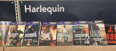 April Harlequin Intrigue titles on the shelves!