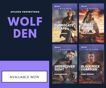 Jenna Kernan Apache Protectors: Wolf Den covers