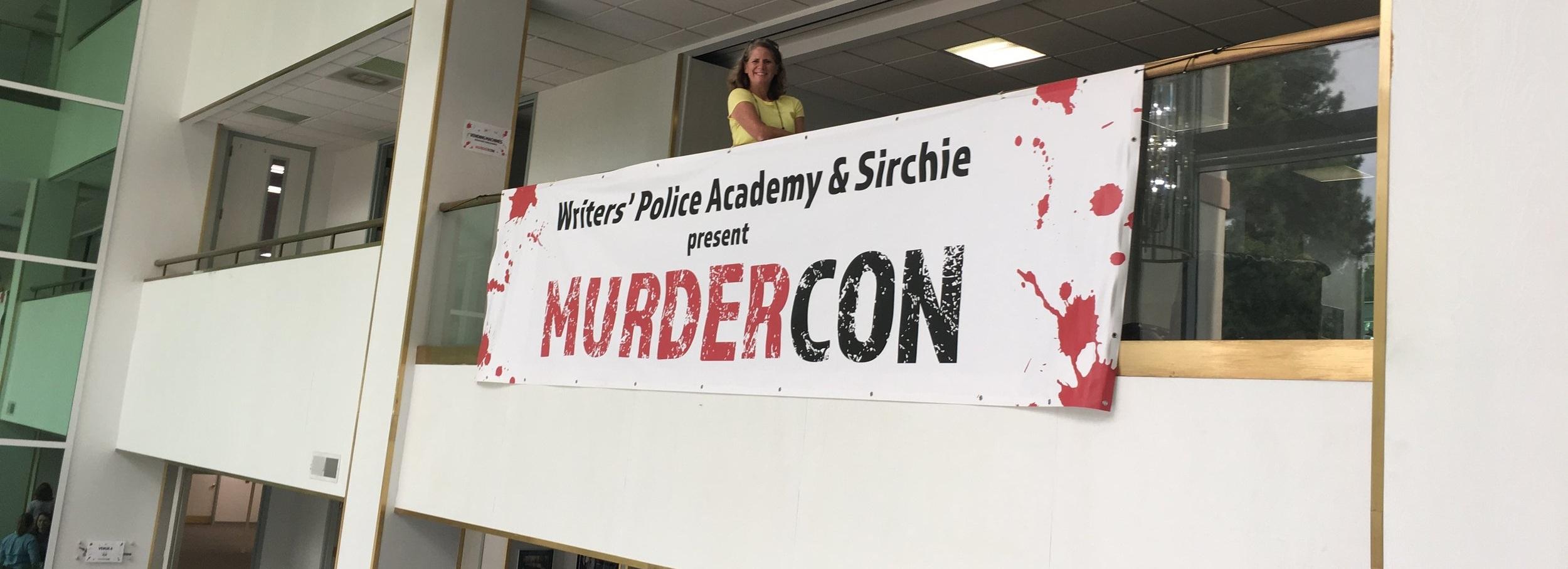 Author Jenna Kernan at Writers Police Academy's MurderCon 2019