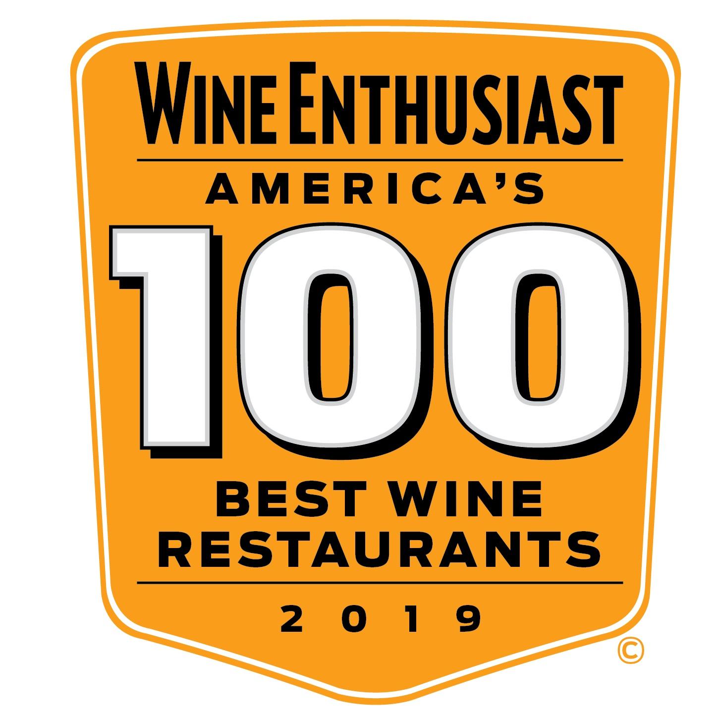 America's Best 100 Wine Restaurants