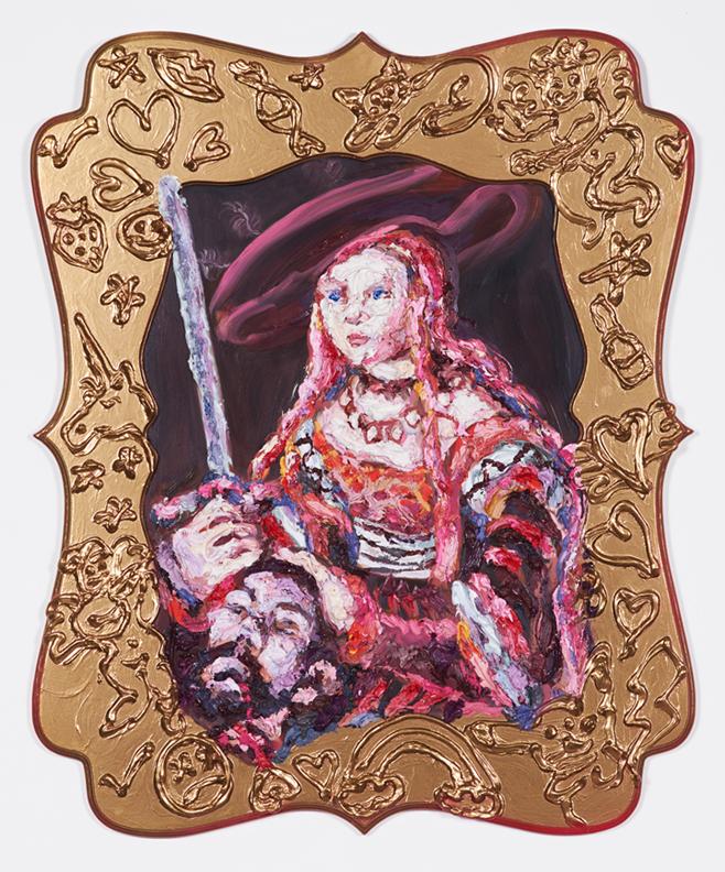 Header (after Cranach the Elder)