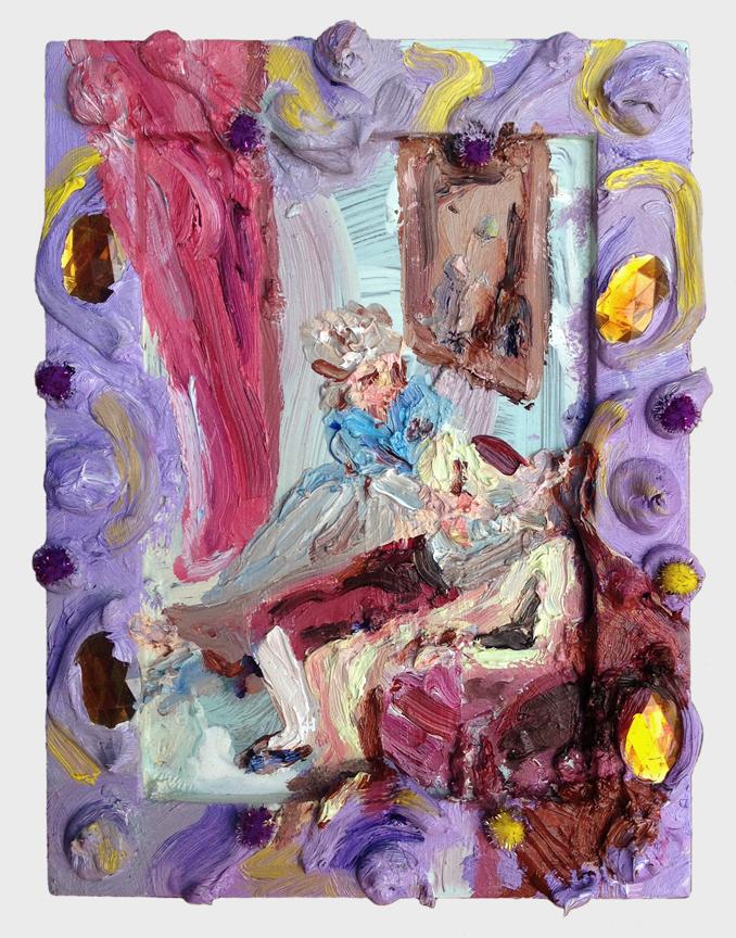 Purple Charlotte (after Pellegrini)