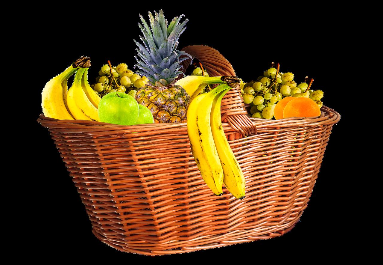 Not actual fruit basket.
