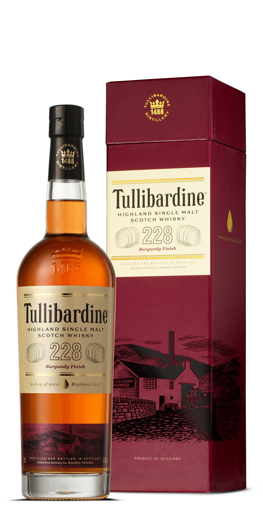 Tullibardine Burgundy Finish 223