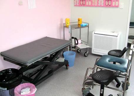 - Holly Gilshnan's bandage room