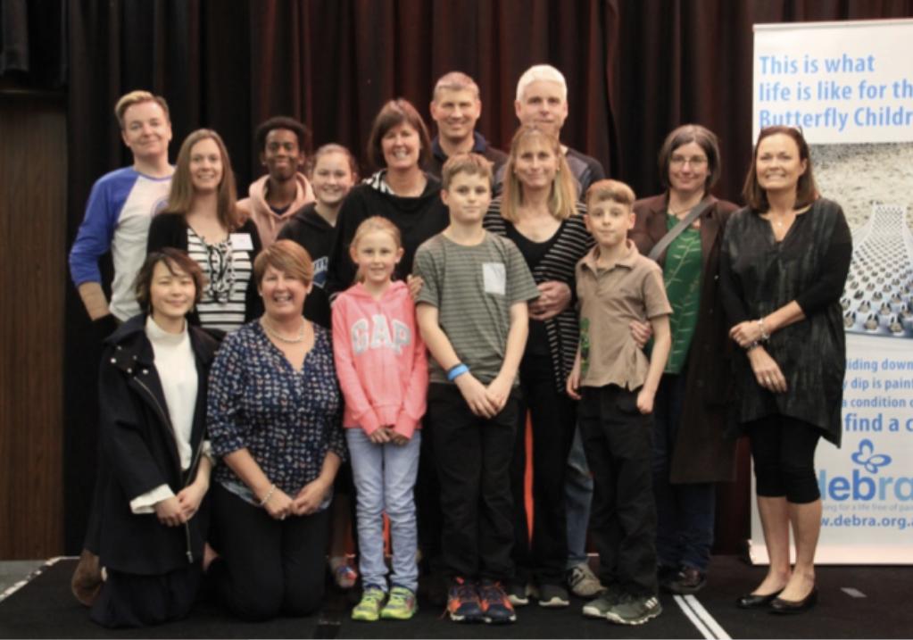 The kiwi contingent at the DEBRA Australia Camp/Conference