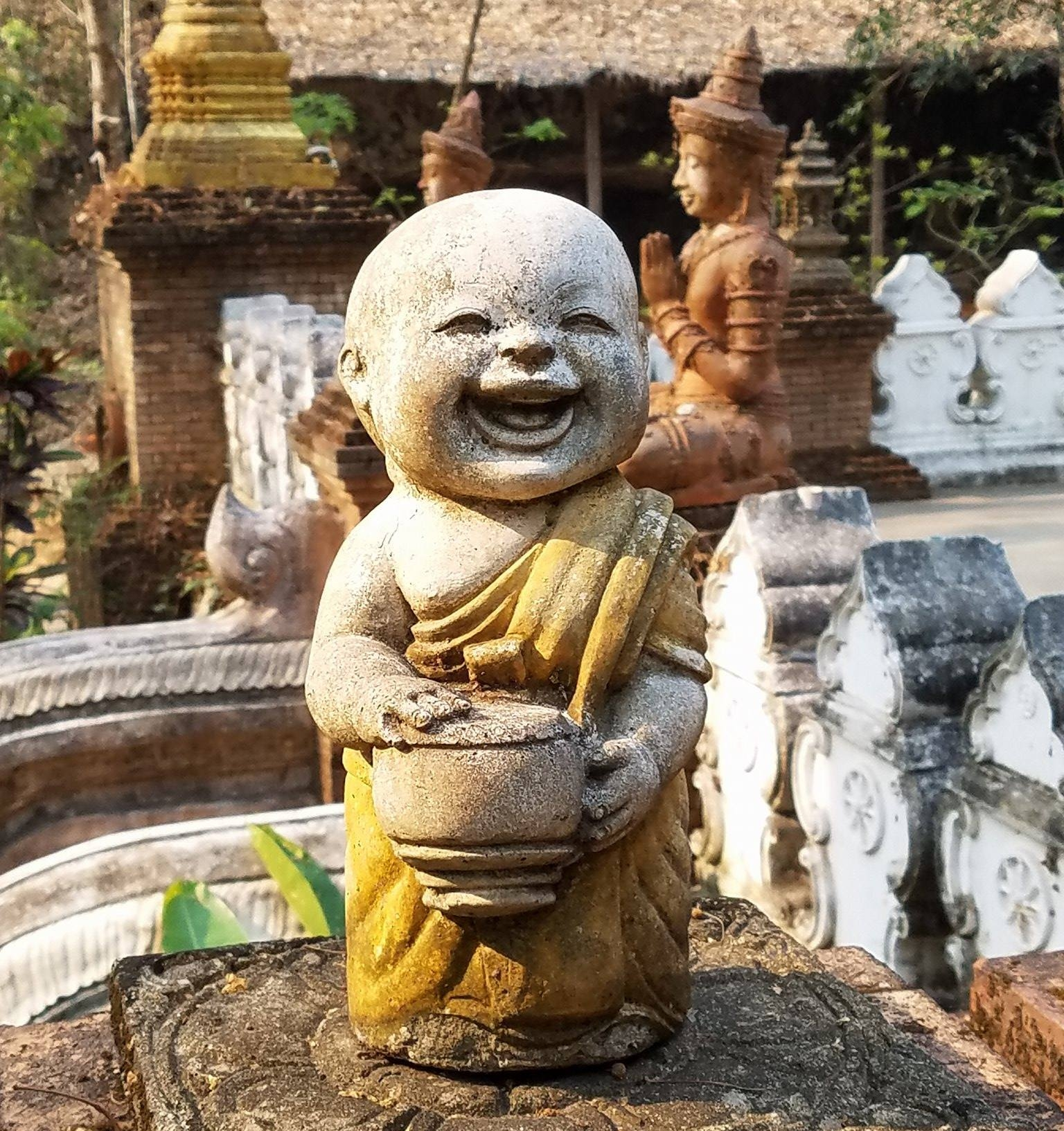 Wat Pha Lat, Chiang Mai, Thailand, April 2017
