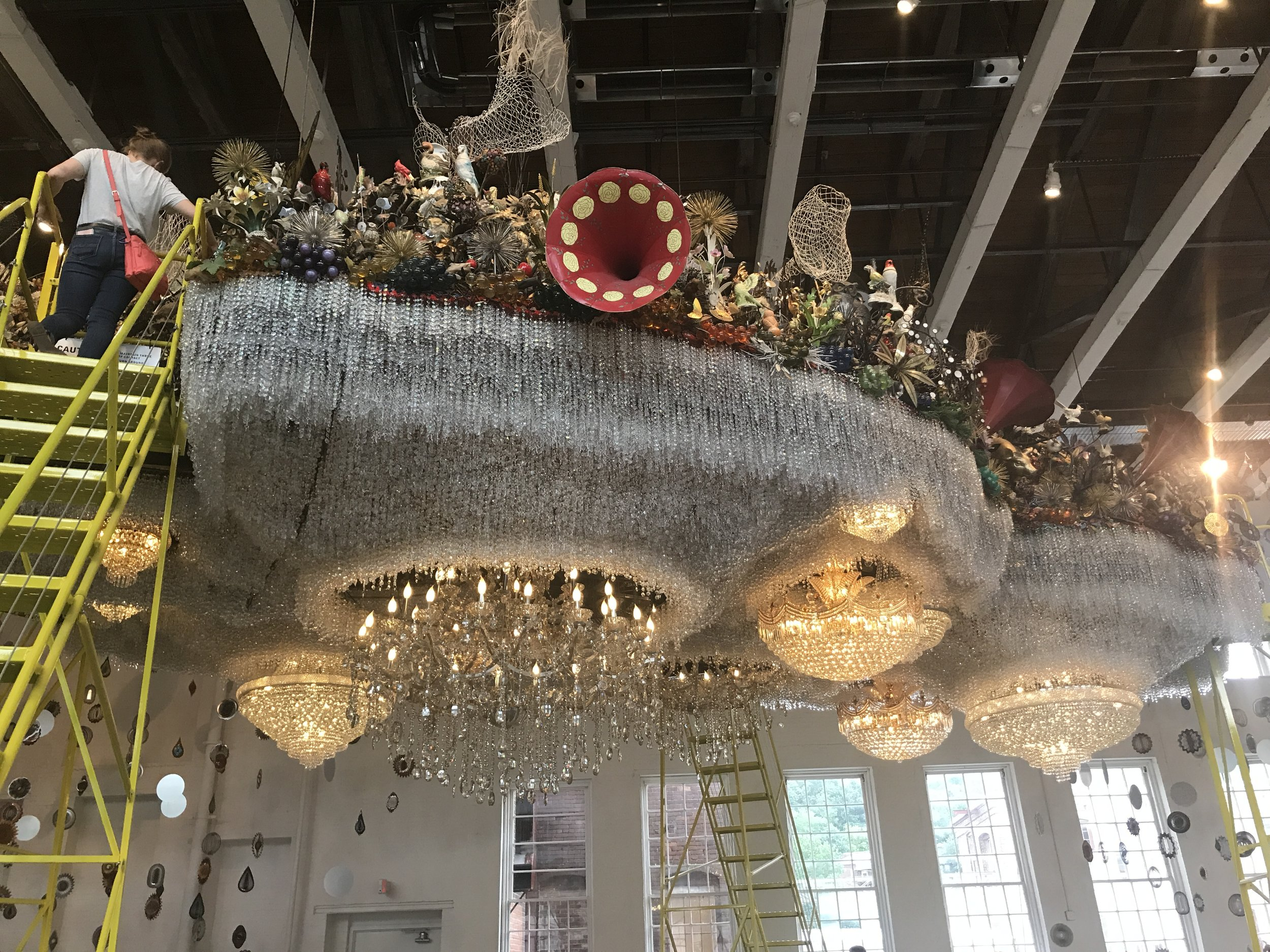 Cloud Installation by Nick Cave