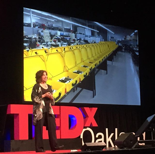 The inspiring work of Laura Stachel, founder of @wecaresolar, has served over 900,000 mothers and newborns 💡 #TEDxOakland #ShapingTomorrow #oakland