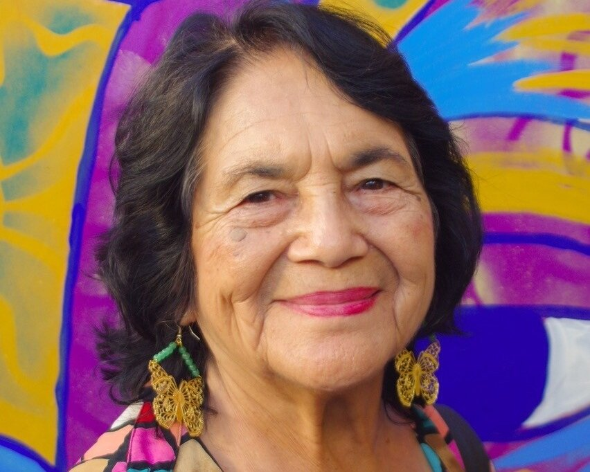 DOLORES HUERTA - Icon Civil Rights Activist