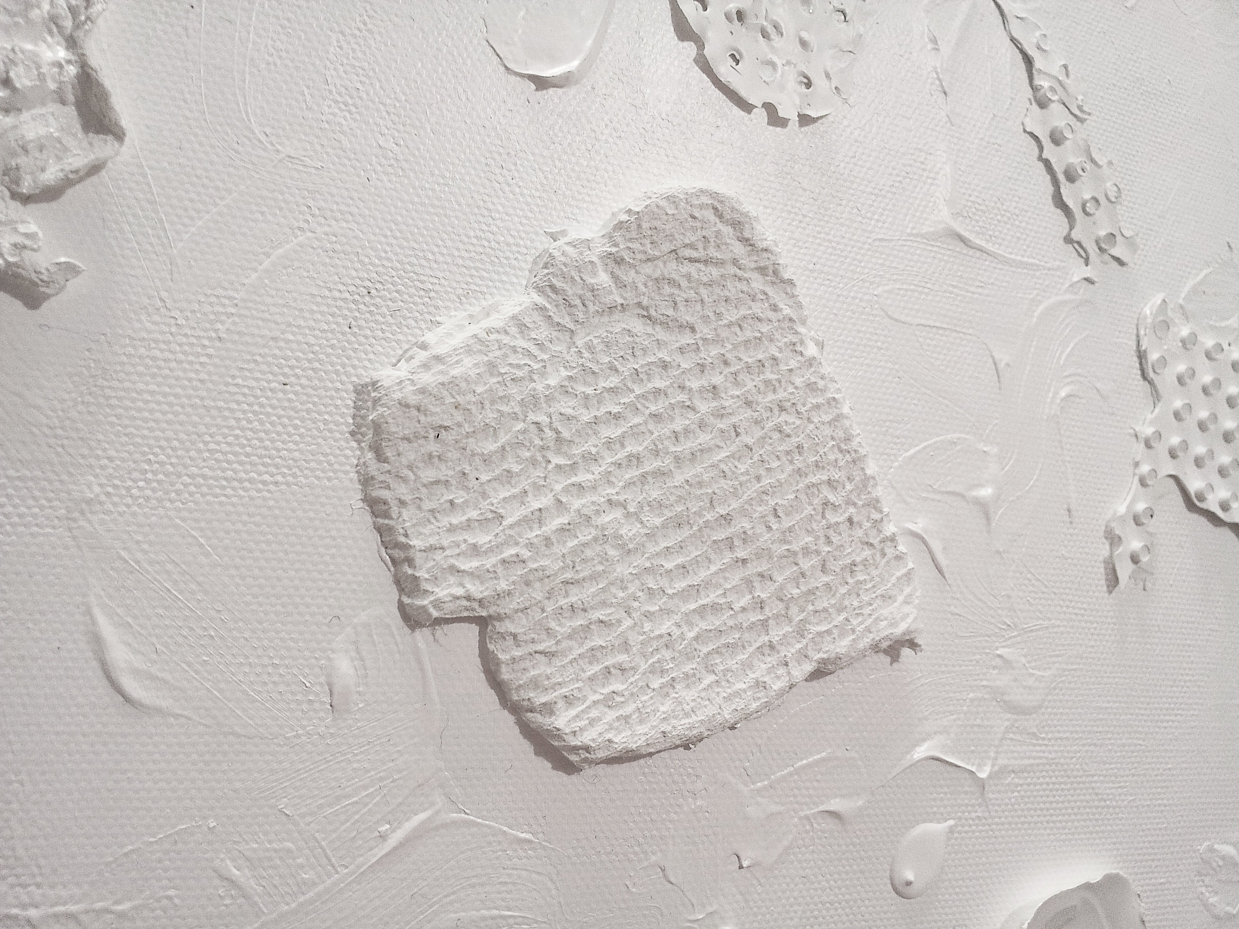 Non-painting (Detail) / 2012 / Acrylic / 100x72 cm