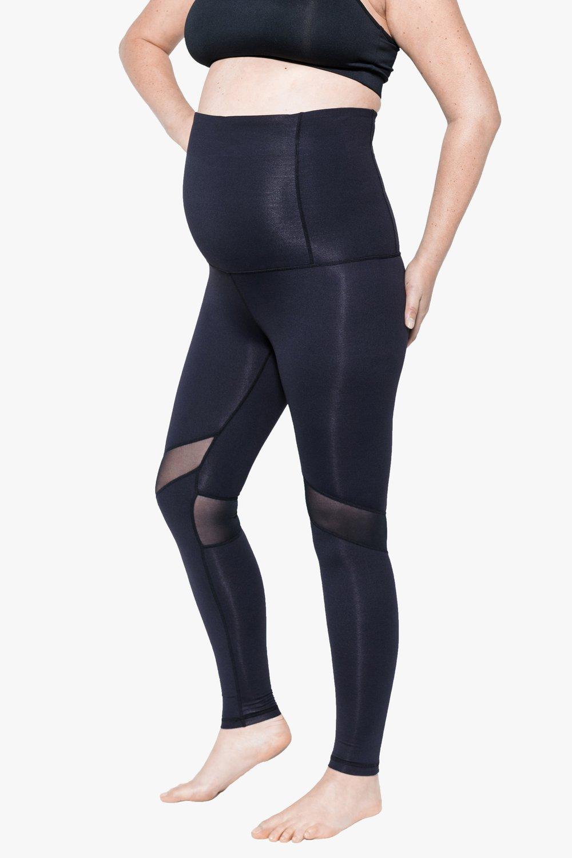 Bornfit full length pregnancy leggings Black $99