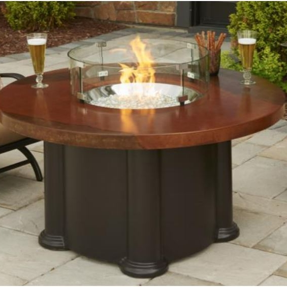 Round Fire Tables - explore