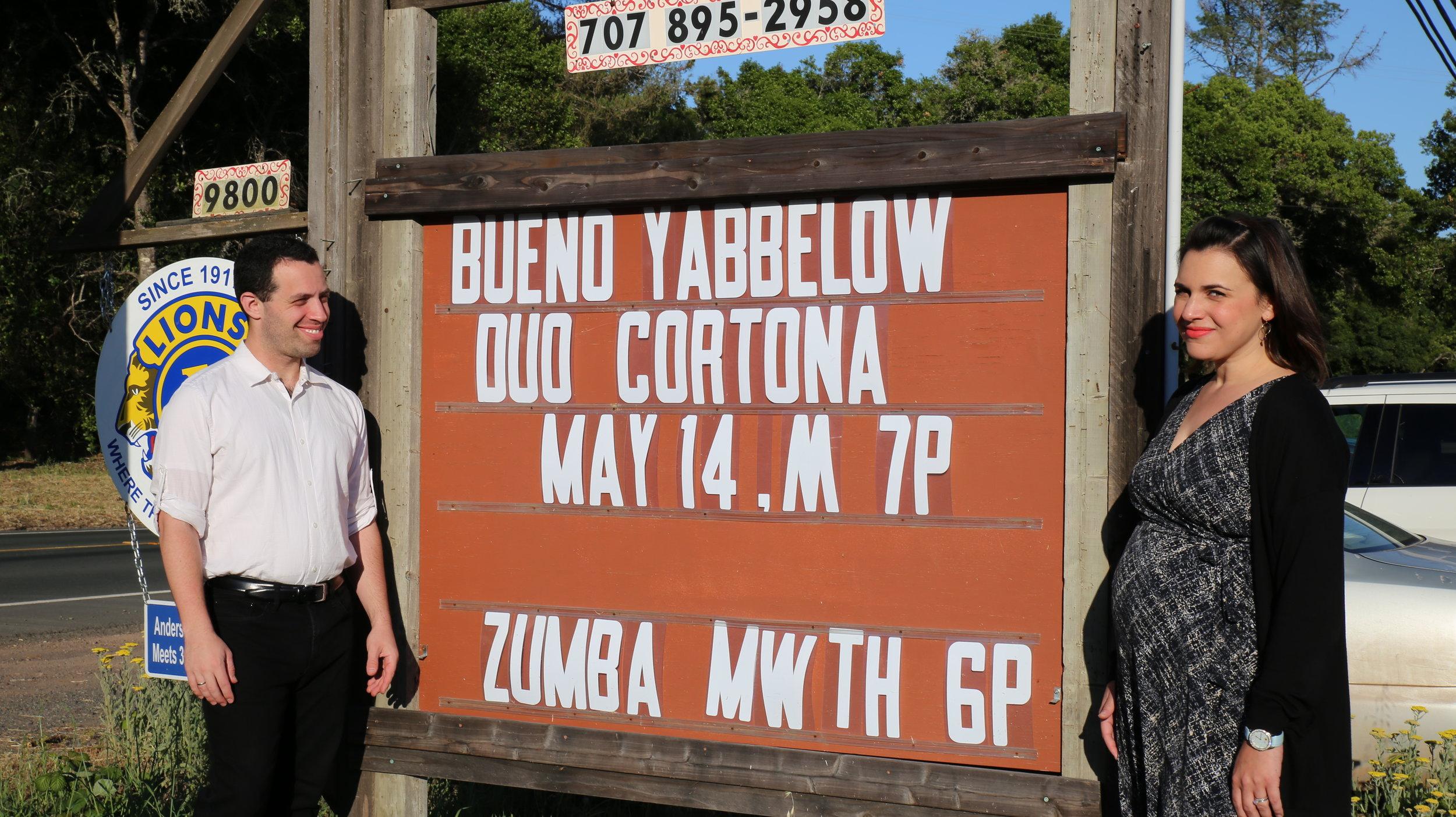 Ari Streisfeld and Rachel Cortona of Duo Cortona