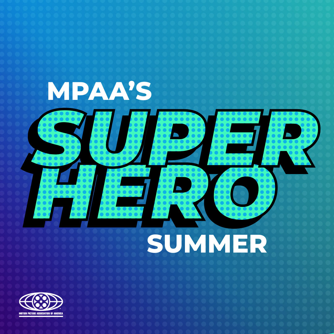 © MPAA 2019. //  Branding for MPAA's Superhero Summer social campaign. Agency: Artemis Ward.