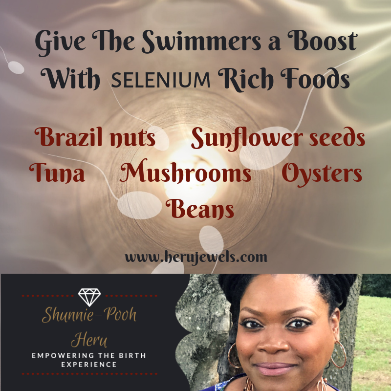 Give The Swimmers Boost With Selenium Rich Foods.png