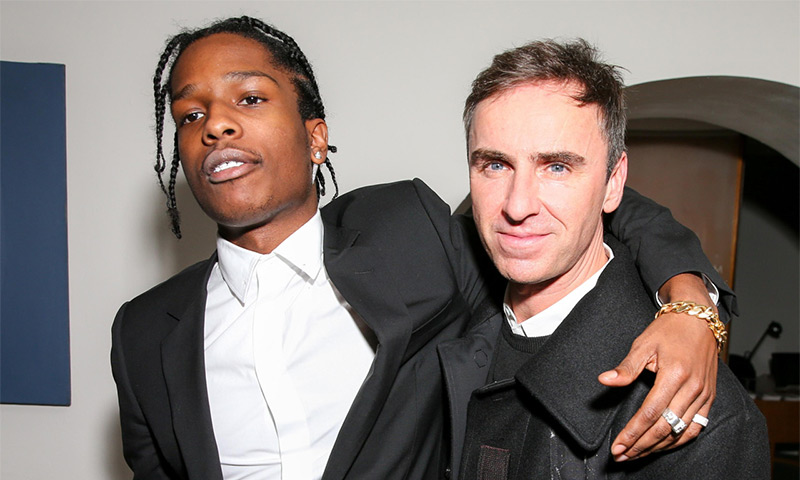 A$ap Rocky and Raf Simon