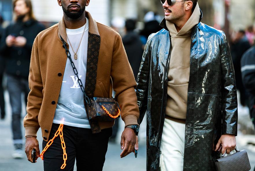 Louis Vuitton FW19 Menswear Street Style